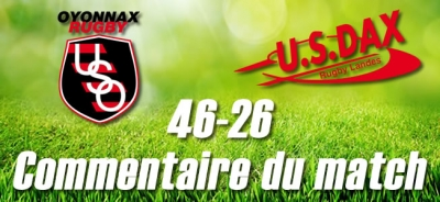 2016-2017 J26 : OYONNAX - DAX : Commentaire du match