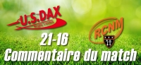 Dax - Narbonne : Commentaire du match