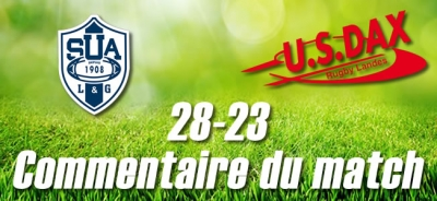 2016-2017 J24 ; AGEN - DAX : Commentaire du match